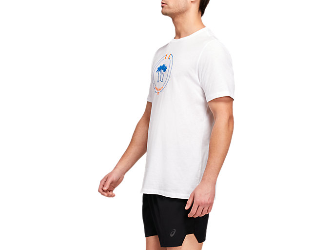 Side view of LA Marathon Crew Short Sleeve