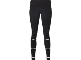 Front Top view of LITE-SHOW WINTER TIGHT, PERFORMANCE BLACK