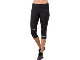 LITE-SHOW KNEE TIGHT, PERFORMANCE BLACK