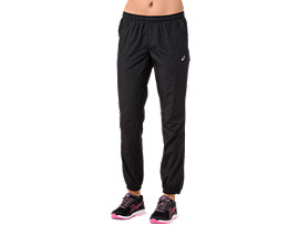 SILVER WOVEN PANT, PERFORMANCE BLACK