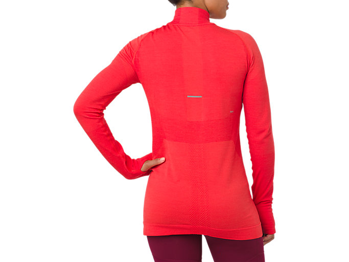 Back view of ASICS System Training Long Sleeve Shirt