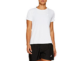 SILVER SHORT SLEEVED TOP
