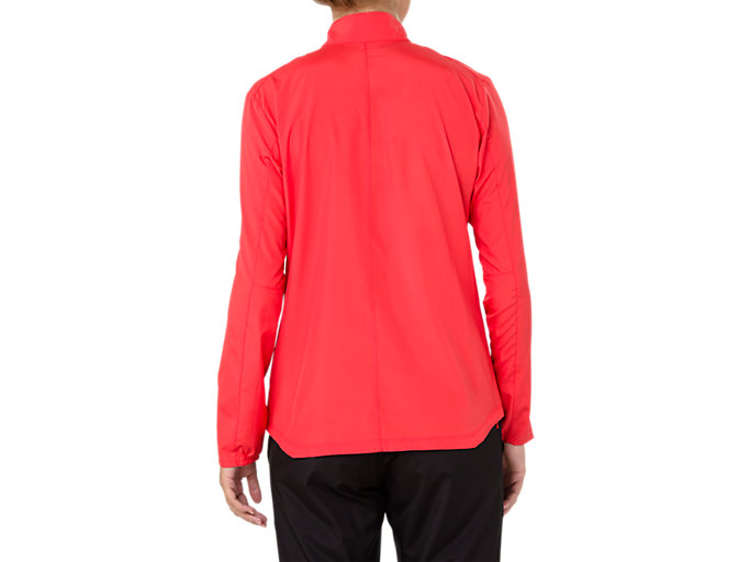 Back view of SILVER JACKET, RED ALERT