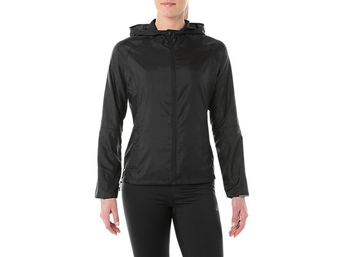 Alternative image view of PACKABLE JACKET, PERFORMANCE BLACK