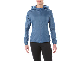PACKABLE JACKET, AZURE