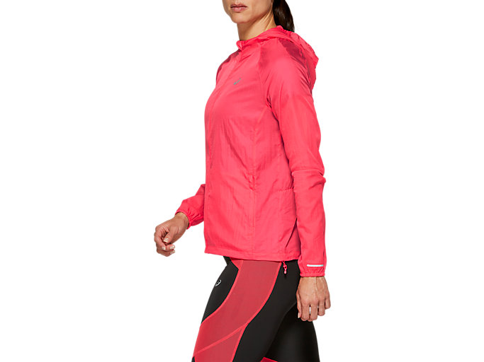 Side view of VESTE REPLIABLE, LASER PINK