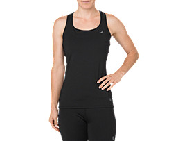 SILVER TANK, PERFORMANCE BLACK