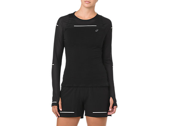 LITE-SHOW LONG SLEEVE, PERFORMANCE BLACK
