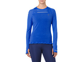 LITE-SHOW LONG SLEEVE, ILLUSION BLUE