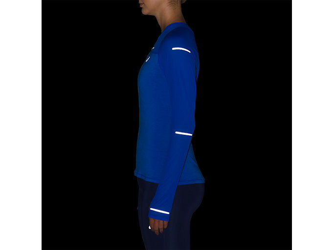Alternative image view of LITE-SHOW LONG SLEEVE, ILLUSION BLUE