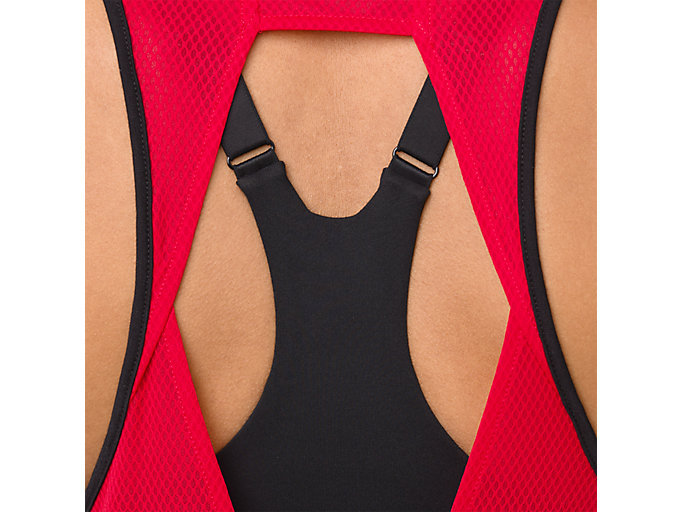 Alternative image view of LOOSE STRAPPY TANK, MP PERFORMANCE BLACK