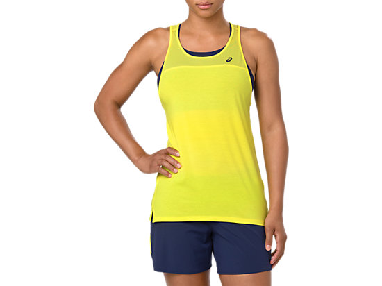 LOOSE STRAPPY TANK, LEMON SPARK