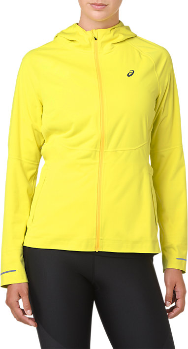 e4a0f5e44b7 Accelerate Jacket | WOMEN | Lemon Spark | ASICS US