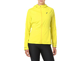 Front Top view of ACCELERATE JACKE, LEMON SPARK