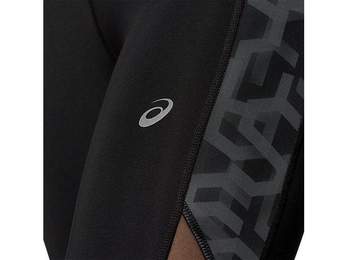 Alternative image view of CAPRI TIGHT PRINT, PERFORMANCE BLACK / HEX TYPE PERFORMANCE BLACK