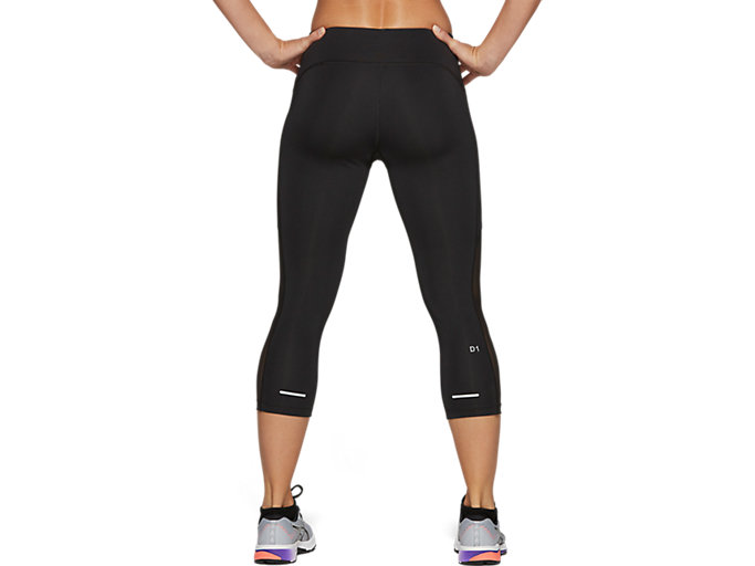 Back view of CAPRI TIGHT, PERFORMANCE BLACK