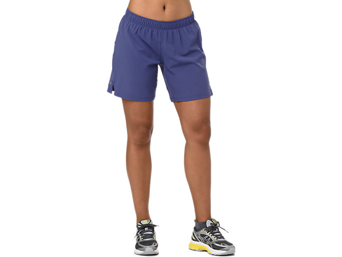 Front Top view of 7IN SHORTS, INDIGO BLUE