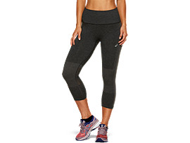 COOLING SEAMLESS CAPRI, PERFORMANCE BLACK