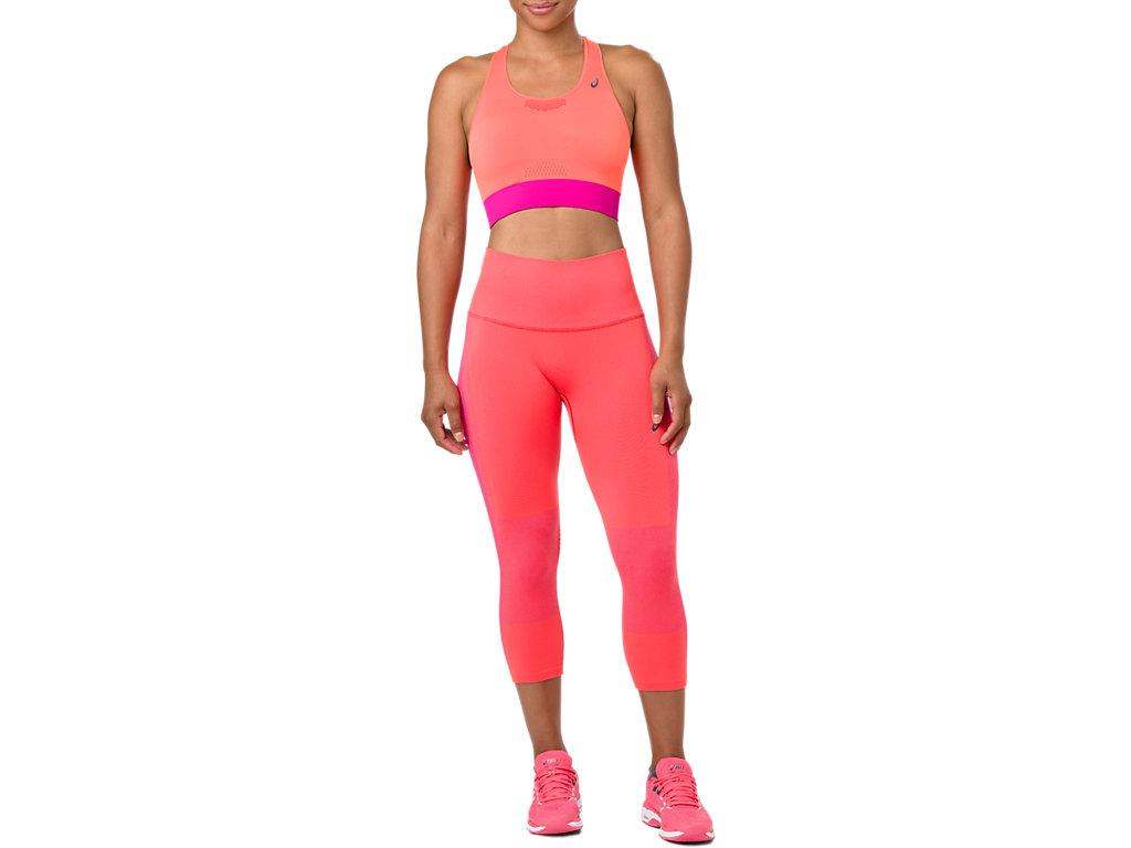 f5c3cc52a9 COOLING SEAMLESS CAPRI | Women | FLASH CORAL | Women's Tights ...