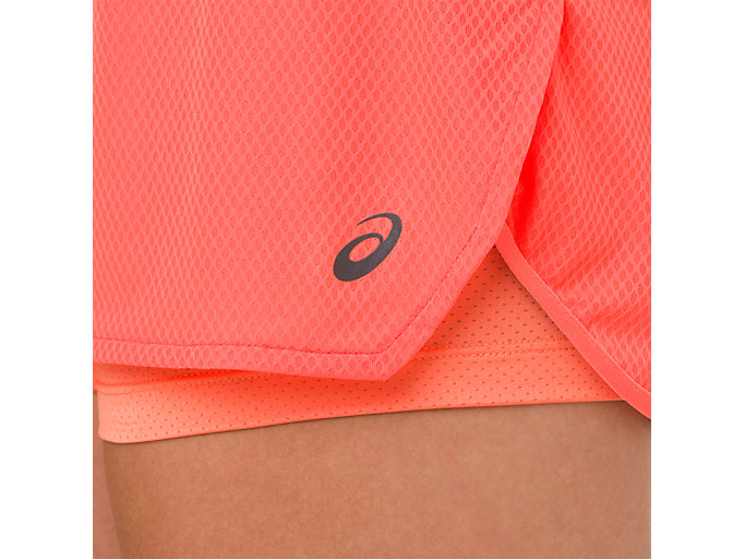 Alternative image view of COOL 2-IN-1 SHORT, FLASH CORAL/ CORAL PINK