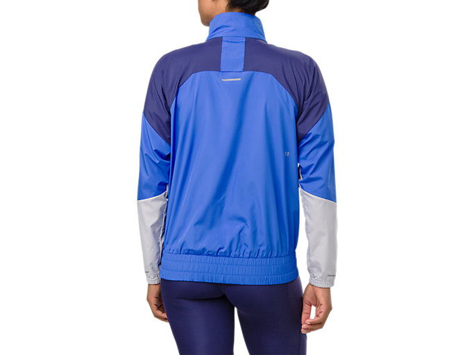 Back view of STYLE JACKET, ILLUSION BLUE