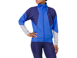 Front Top view of STYLE JACKET, ILLUSION BLUE