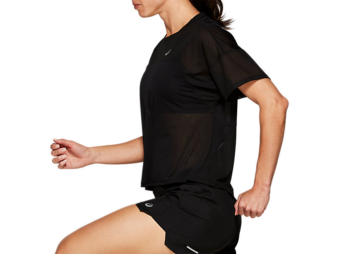 Side view of STYLE TOP, PERFORMANCE BLACK