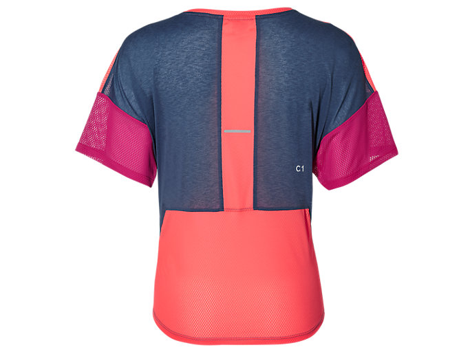 Back view of STYLE TOP, GRAND SHARK/FLASH CORAL