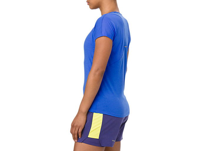 Side view of V-Neck Short Sleeve