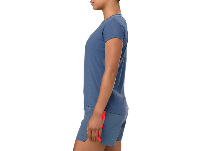 Side view of V-NECK SS TOP, GRAND SHARK