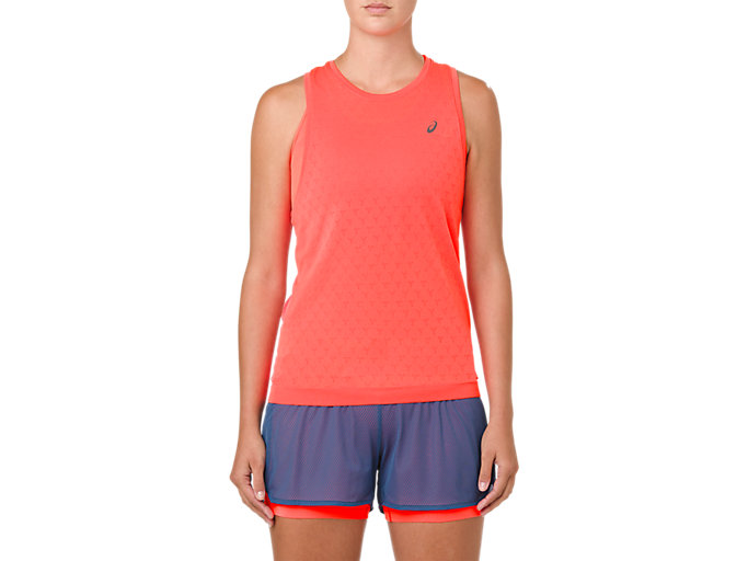 GEL-COOL SLEEVELESS, FLASH CORAL