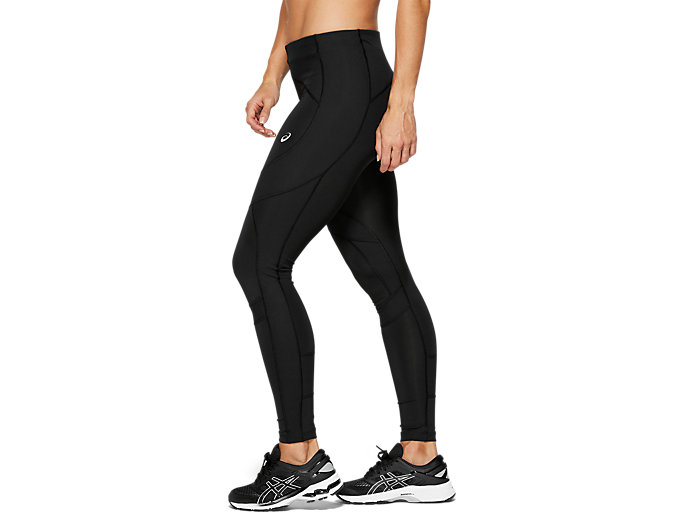 Side view of LEG BALANCE TIGHT 2, PERFORMANCE BLACK