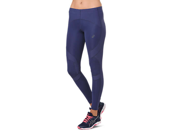 Front Top view of LEG BALANCE TIGHT 2, INDIGO BLUE