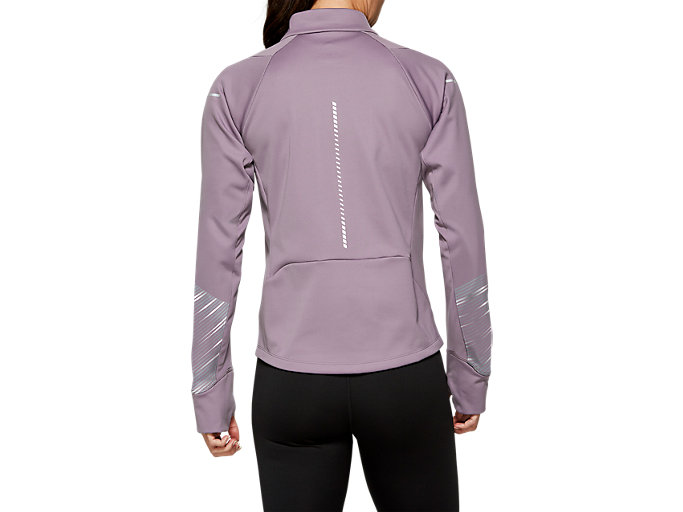 Back view of LITE-SHOW™ 2 WINTER JACKET, Lavender Grey