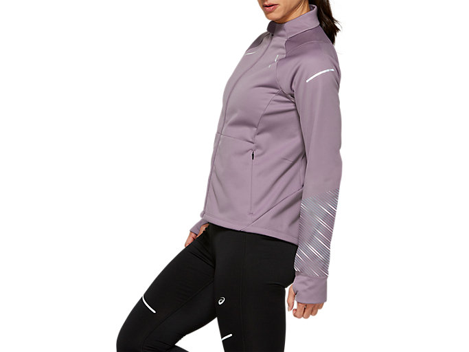 Side view of LITE-SHOW™ 2 WINTER JACKET, Lavender Grey