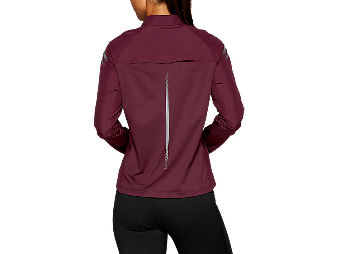 Back view of ICON JACKET, DEEP MARS