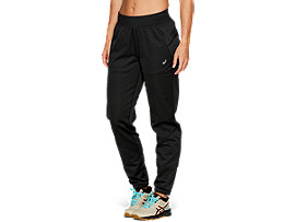 Front Top view of WINTER ACCELERATE PANT, PERFORMANCE BLACK