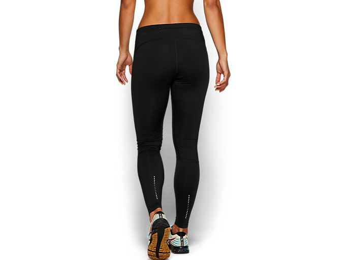 Back view of WINDBLOCK TIGHT, PERFORMANCE BLACK