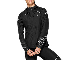 Front Top view of LITE-SHOW™ 2 JACKET, PERFORMANCE BLACK