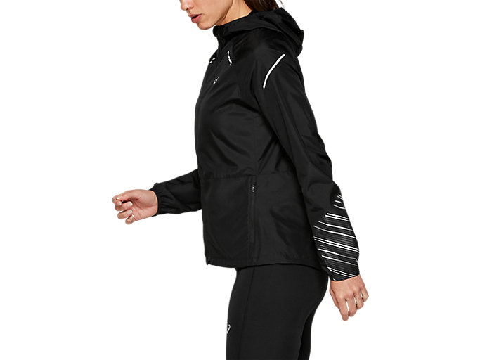 Side view of LITE-SHOW™ 2 JACKET, PERFORMANCE BLACK
