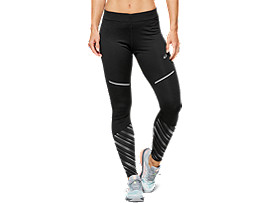 Front Top view of LITE-SHOW™ 2 WINTER TIGHT, PERFORMANCE BLACK