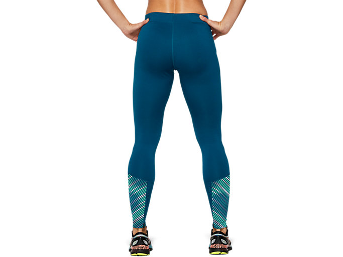 Back view of LITE-SHOW™ 2 WINTER TIGHT, Mako Blue