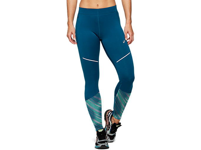 Front Top view of LITE-SHOW™ 2 WINTER TIGHT, Mako Blue
