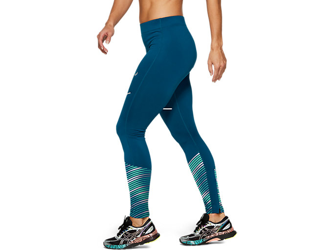 Side view of LITE-SHOW™ 2 WINTER TIGHT, Mako Blue