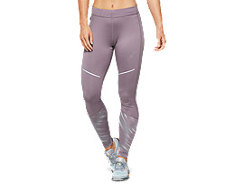 Front Top view of LITE-SHOW™ 2 WINTER TIGHT, Lavender Grey