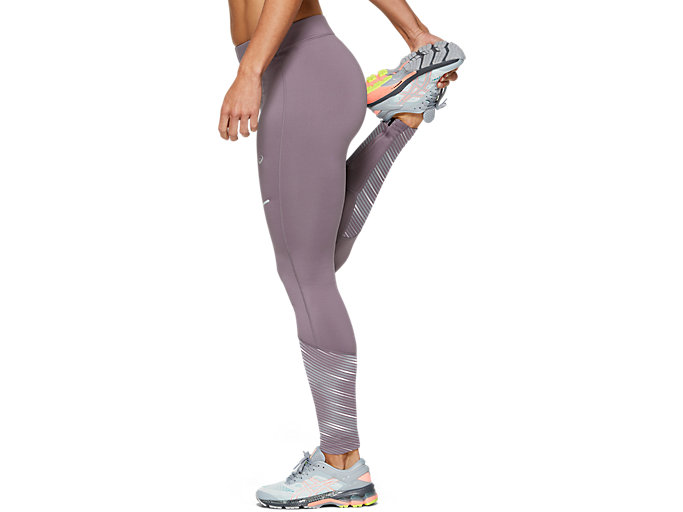 Side view of LITE-SHOW™ 2 WINTER TIGHT, Lavender Grey
