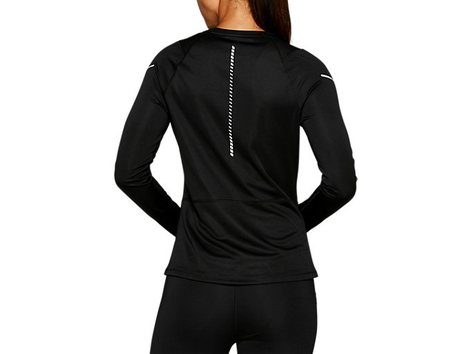Back view of LITE-SHOW™ 2 LS TOP, PERFORMANCE BLACK