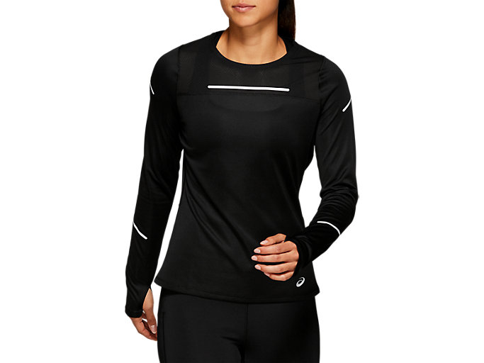 6360eacb05 LITE-SHOW™ 2 LS TOP | Women | PERFORMANCE BLACK | Women's Long ...