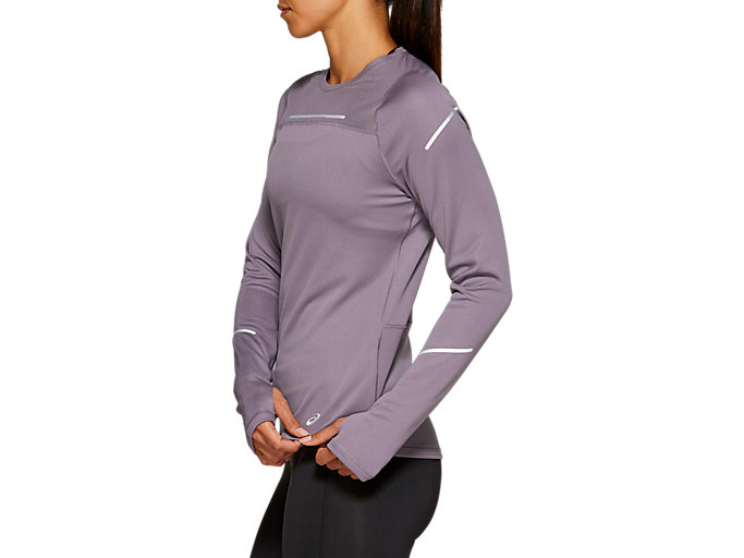 Side view of LITE-SHOW™ 2 LS TOP, Lavender Grey
