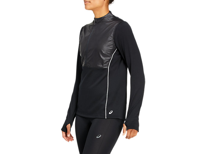 Side view of THERMO STORM Half-Zip